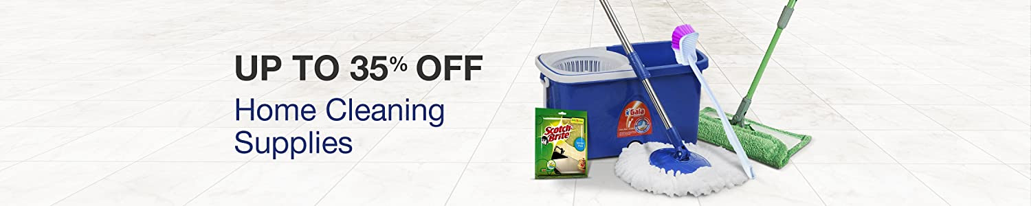 Home Cleaning Supplies - Up to 35% Flat off