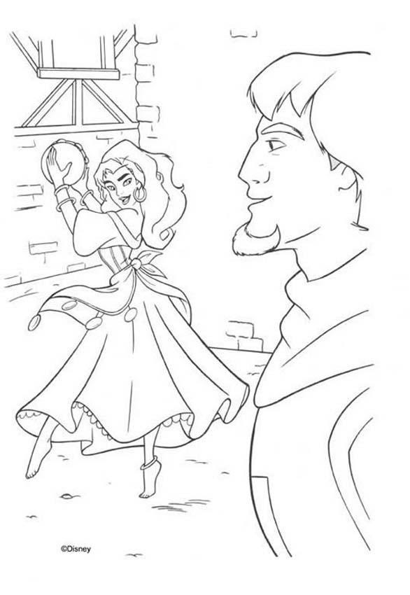 Hunchback Of Notre Dame Coloring Pages Auto Electrical Wiring Diagram