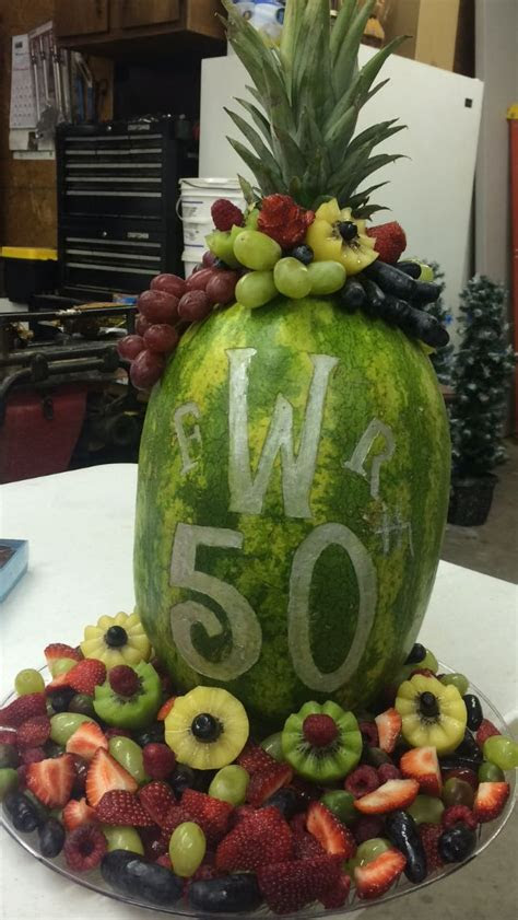 50th wedding anniversary, Fruit trays and Wedding