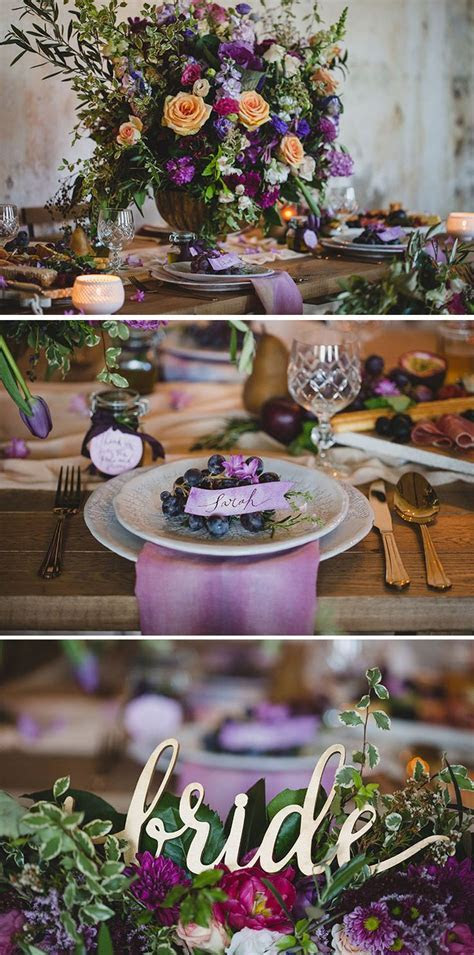 25  best ideas about Plum Wedding Decor on Pinterest