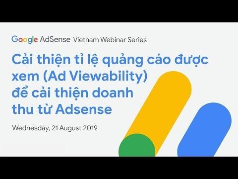 Live stream: Tối đa hoá tỉ lệ hiển thị quảng cáo (Ad Viewability) để cải thiện doanh thu từ AdSense