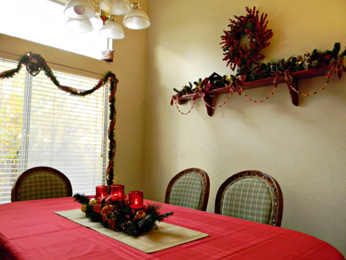 Dining Room Christmas Decorating Ideas KmartHoliday  Home Cooking Memories