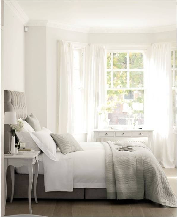 Clean bedroom #bedroom #roominspiration