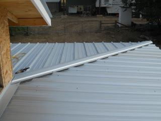 House Porch Roof Metal Hip Roof Ridge Cap