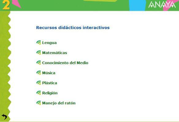 ANAYA: RECURSOS DIGITALES PARA PRIMARIA