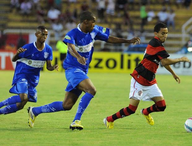 Rafinha, Flamengo x Olaria (Foto: Alexandre Vidal/Fla Imagem)