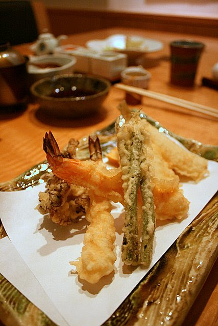 Tenshin lunch set tempura