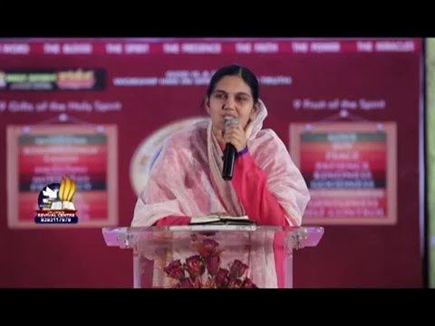 Dont worry - Christian Telugu Message by Sis Shaila Paul