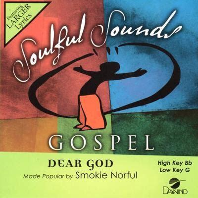 dear god  smokie norful