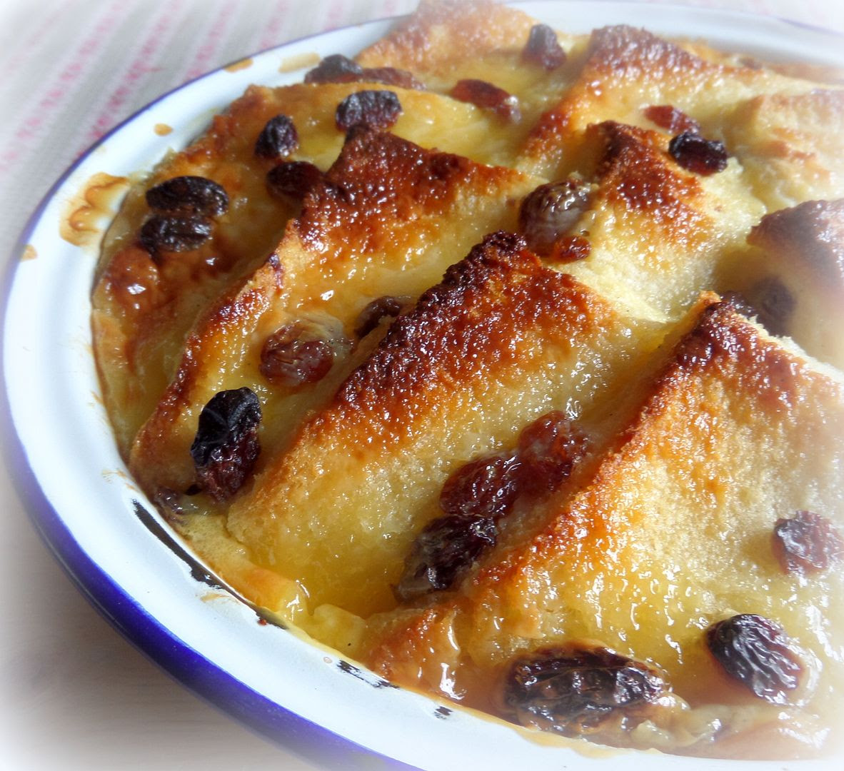 The English Kitchen: Bread & Butter Pudding with Lemon ...