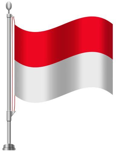 bendera indonesia   clipart   transparent