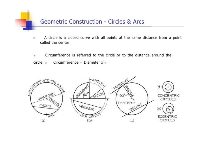 engineering drawing geometric construction lesson 4 10 728