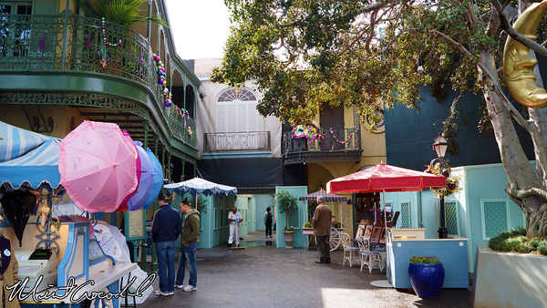 Disneyland Resort, Disneyland, New Orleans Square, Mardi Gras, Club 33, Refurbishment, Refurb