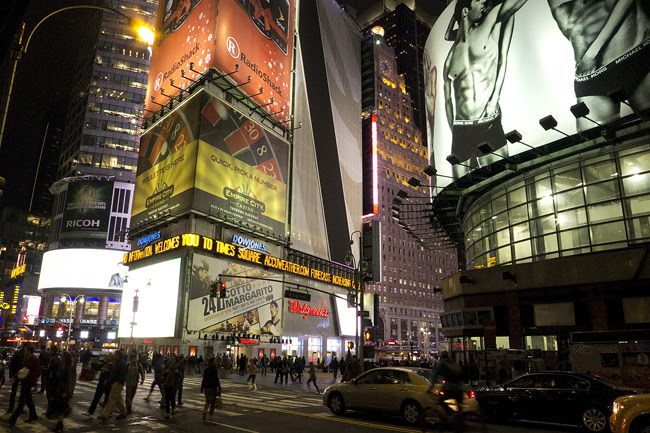 Times Sq., NYC