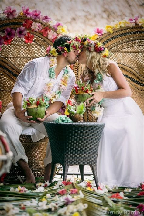 polynesian wedding ideas  pinterest samoan