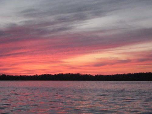 Sunset on Lake Kitchi