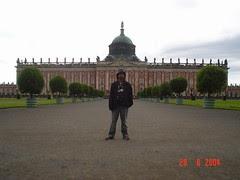 Neues Palais kat Park Sanssouci, Potsdam, Germany
