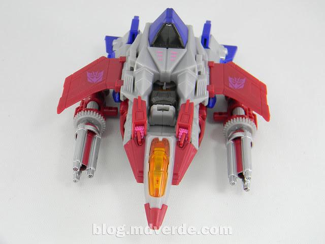 Transformers Starscream Deluxe - Generations Fall of Cybertron - modo alterno