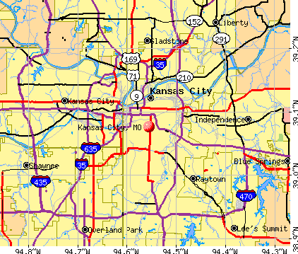 Kansas City Missouri Mo Profile Population Maps Real
