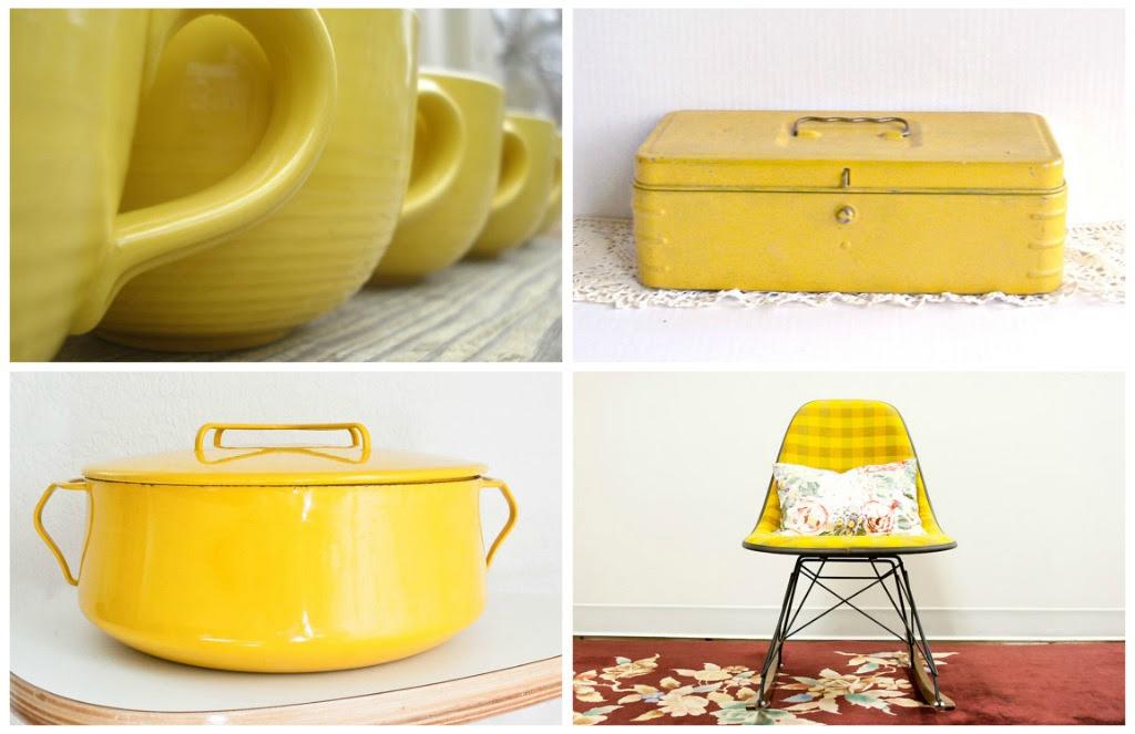 Beautiful Vintage: Lemon Yellow   The Shopbug