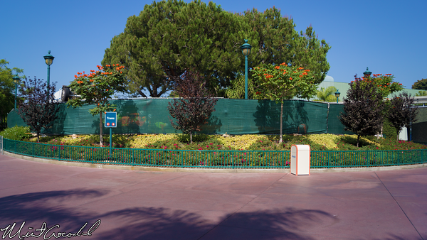 Disneyland Resort, Tram, Route