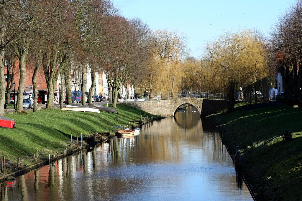 Kanal i Friedrichstadt