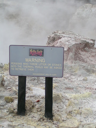 sign at hell's gate