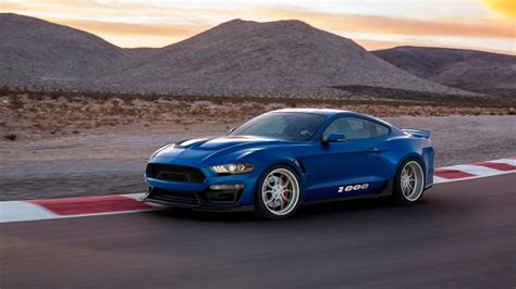 ford shelby mustang  top speed