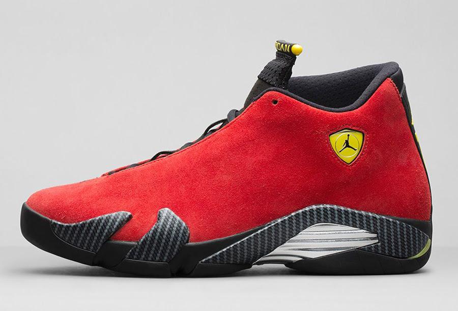 Air Jordan 14 One Piece \u0026quot;Ferrari\u0026quot;  Nikestore Release Info  SneakerNews.com