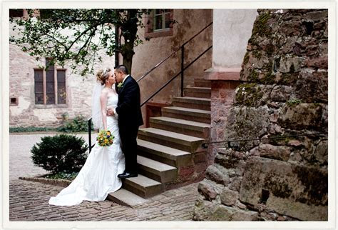 Heidelberg Castle   American Wedding in Germany