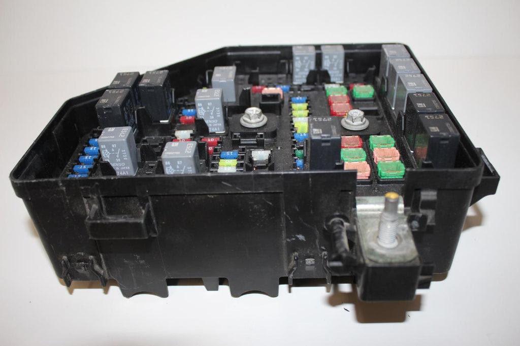2012 Traverse Fuse Box