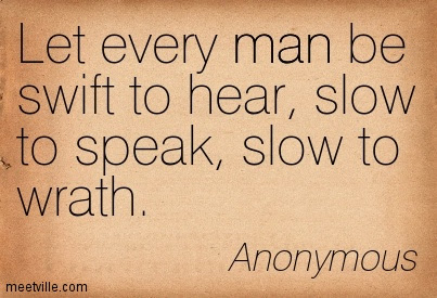 A Gentleman Wishes To Be Slow To Speak And Quick To Do Life Quote