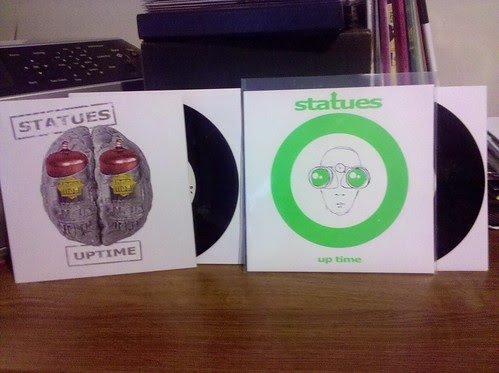 "Statues - Up Time 7"" - Regular & Ptrash Club Versions by factportugal"
