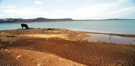 Reservatório de Sobradinho vai diminuir a vazão para chegar a novembro com 5% da sua capacidade, como ocorreu em 2001 / Arnaldo Carvalho/JC Imagem