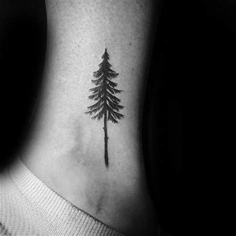 60 Small Tree Tattoos For Men   Masculine Design Ideas