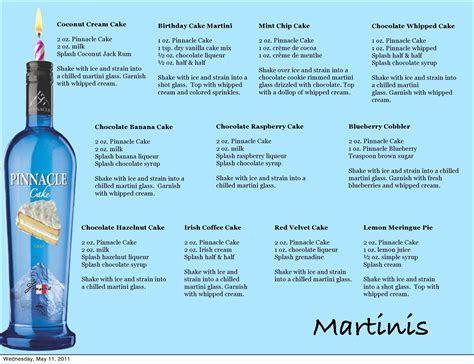 Pinnacle Cake Martini Recipes   Adult drinks   Cake vodka