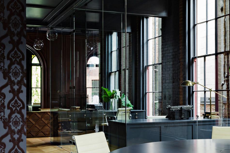 Jessica Helgerson Interior Design Gothic Office 9
