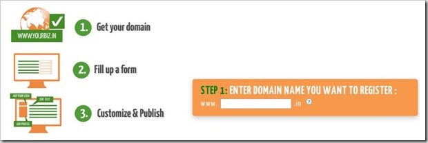 Wow! Google offers Free Website with .in domains   Grab Now!
