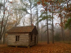 Old cabin...