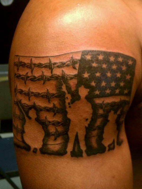 85 Best Patriotic American Flag Tattoos I Love Usa 2019