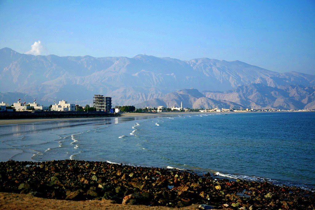 Dibba Coast - Oman at the Indian Ocean