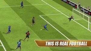 لعبة Real Football لانظمة اندرويد.