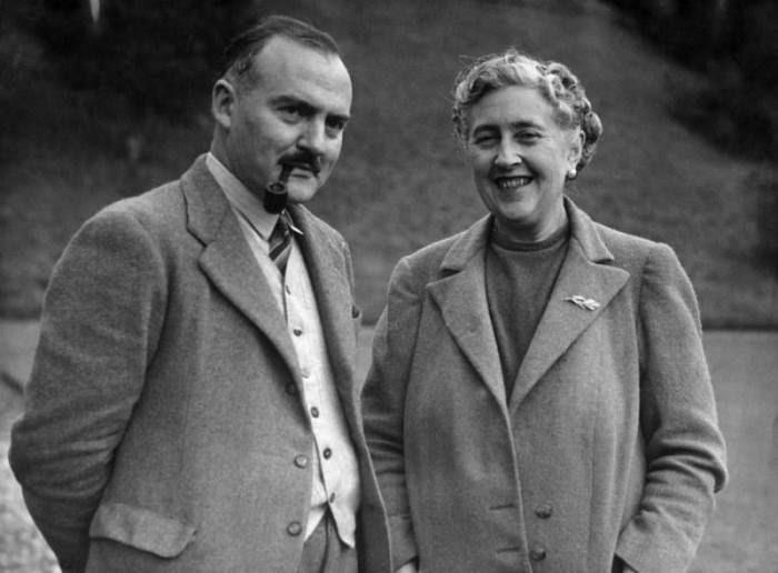Агата Кристи (Agatha Christie) и Макс Мэллоуэн (Max Mallowan)