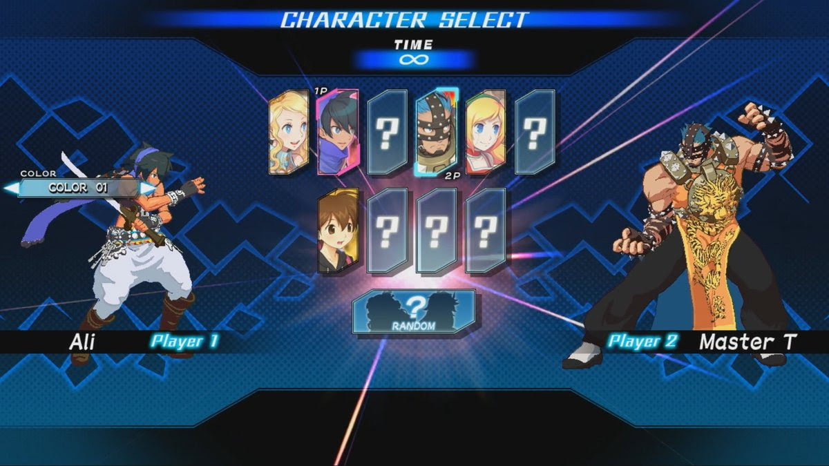 Blade Strangers is a new crossover fighter featuring Japanese favorites screenshot