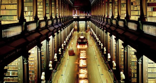 The Long Room Library, Trinity College Dublin.