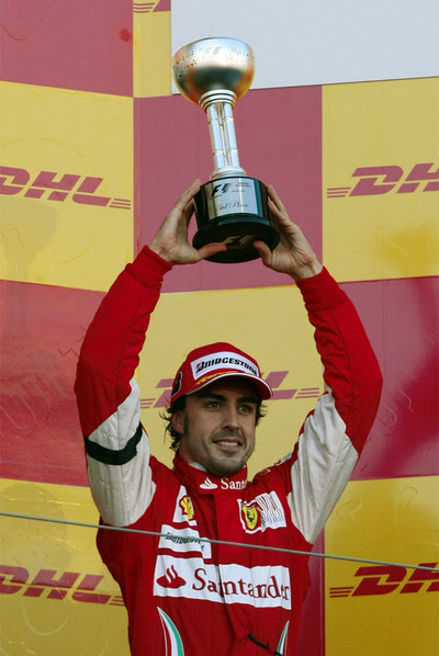 Fernando Alonso On The Rock