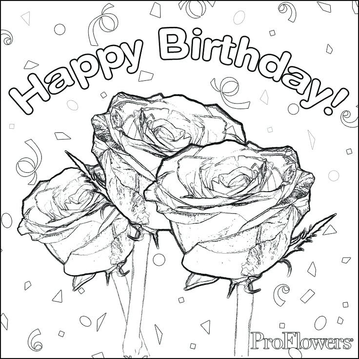 Happy Birthday Teacher Coloring Pages at GetColorings.com ...