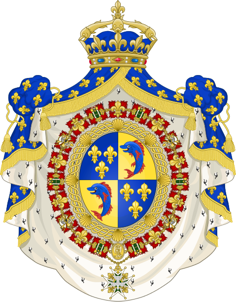 File:Coat of Arms of the Dauphin of France.svg