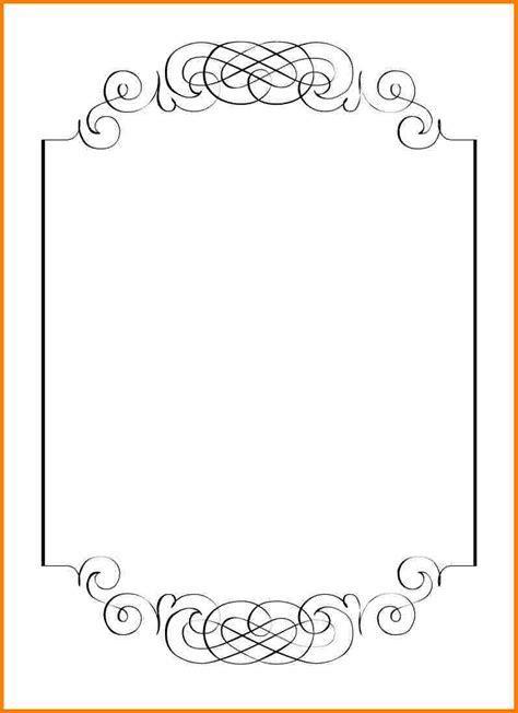 Blank Invitation Templates For Microsoft Word   rota template