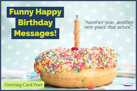 Funny Happy Birthday Messages To Bring Out Smiles